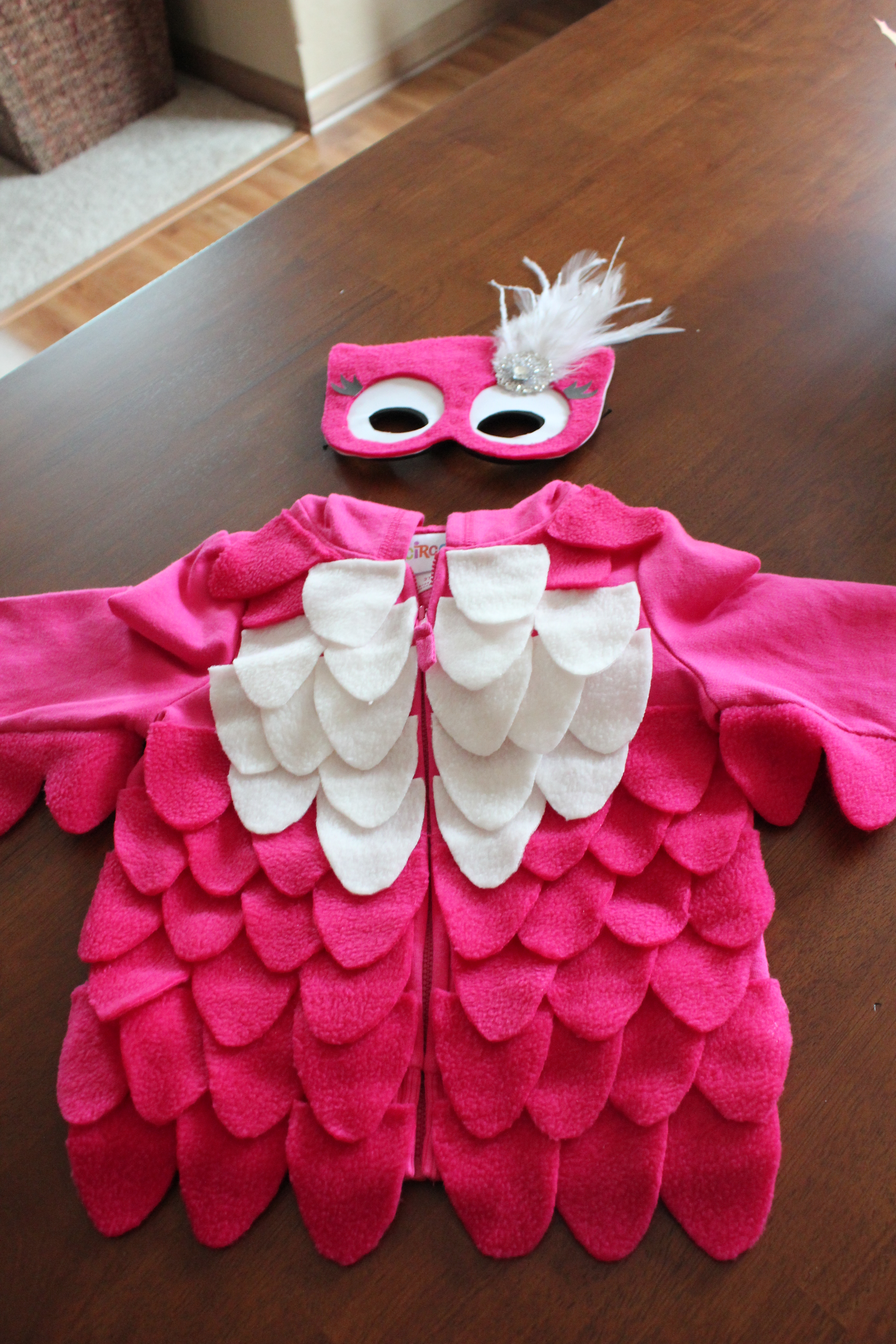 Diy owl costume simply being abby i found a blog that had a homemade owl costume and partially replicated it you can find her post here but i have included my own directions and tips solutioingenieria Image collections
