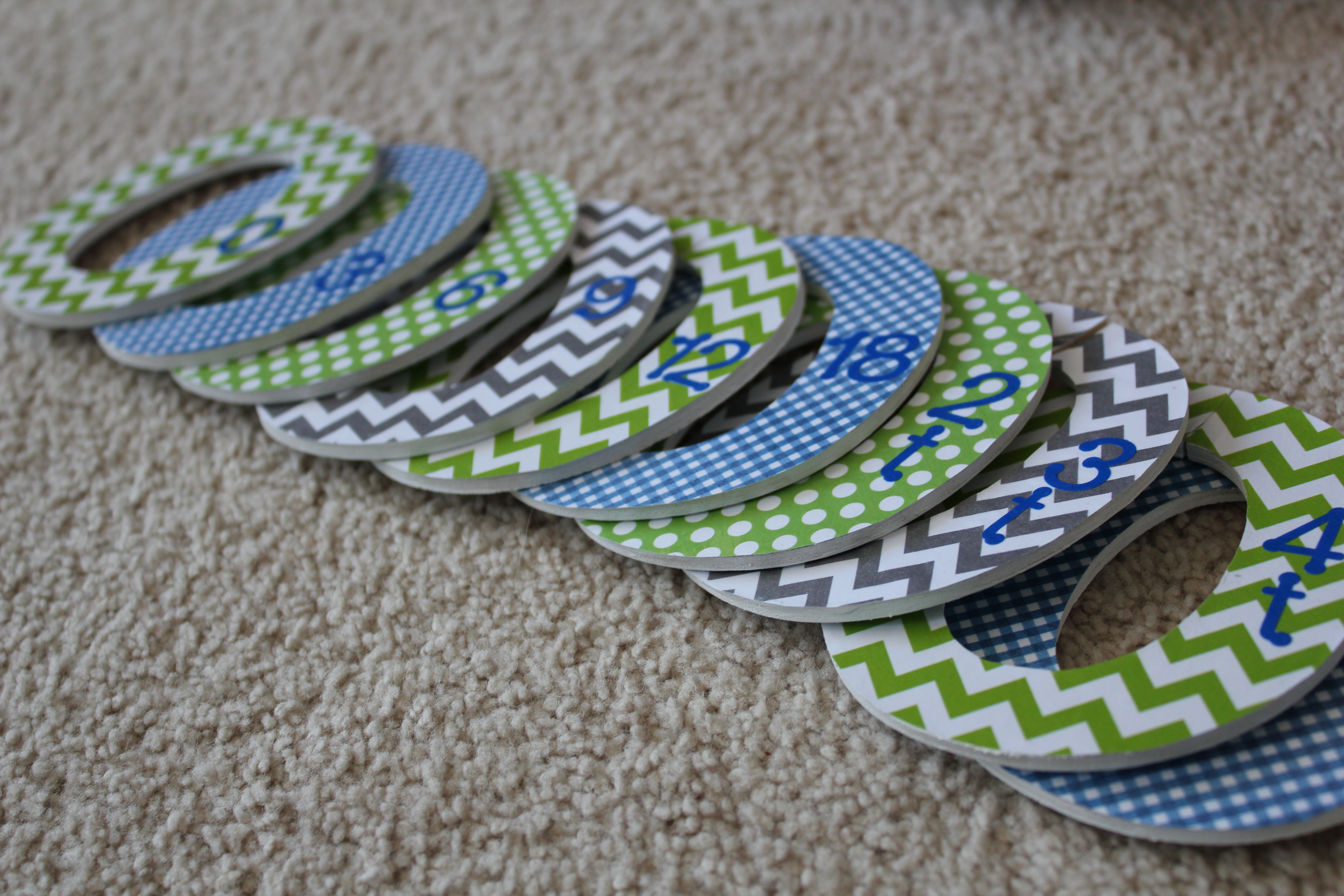 Diy Baby Closet Dividers Simply Being Abby