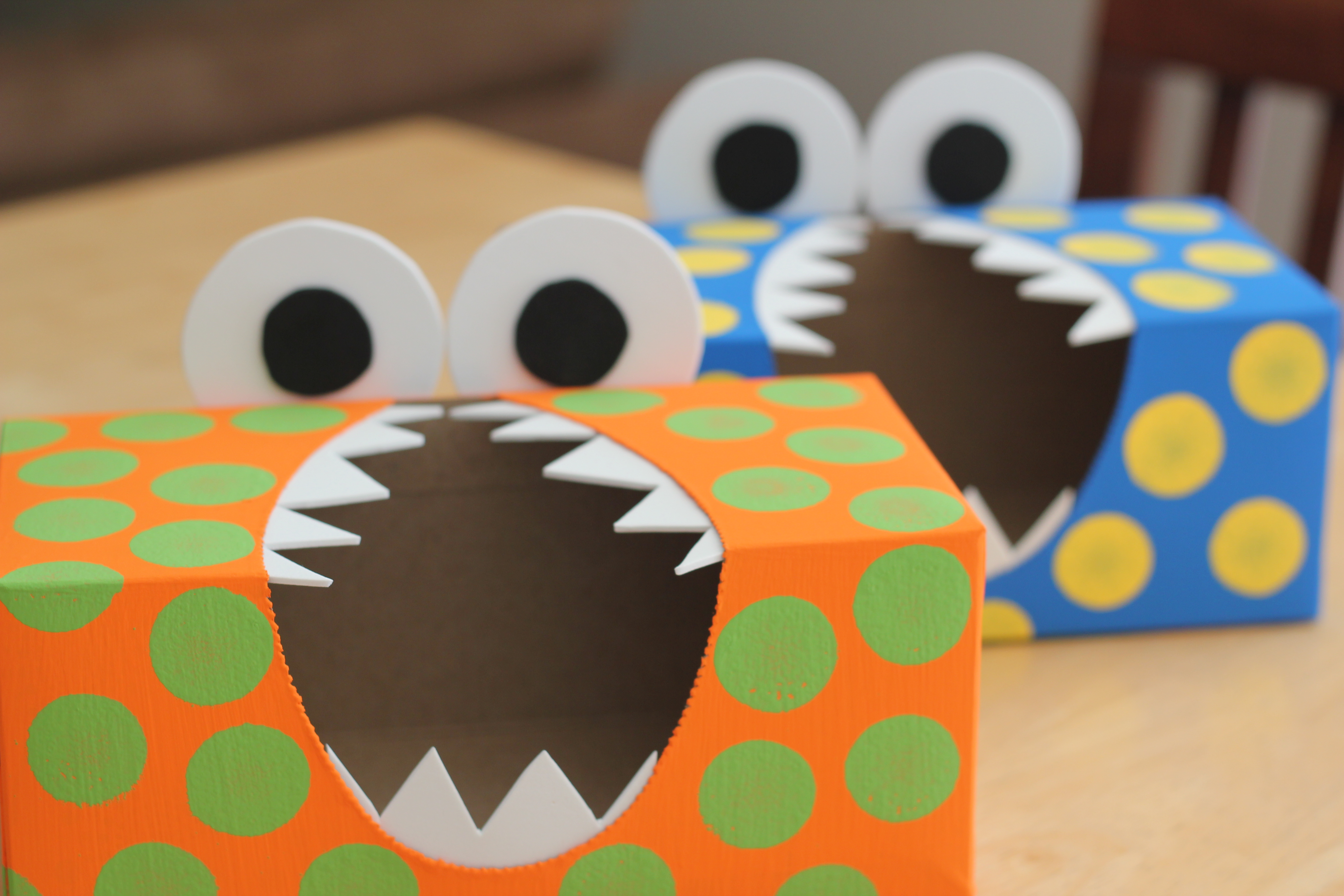 Monster First Birthday Party DIY Utensil Holders Simply Being Abby