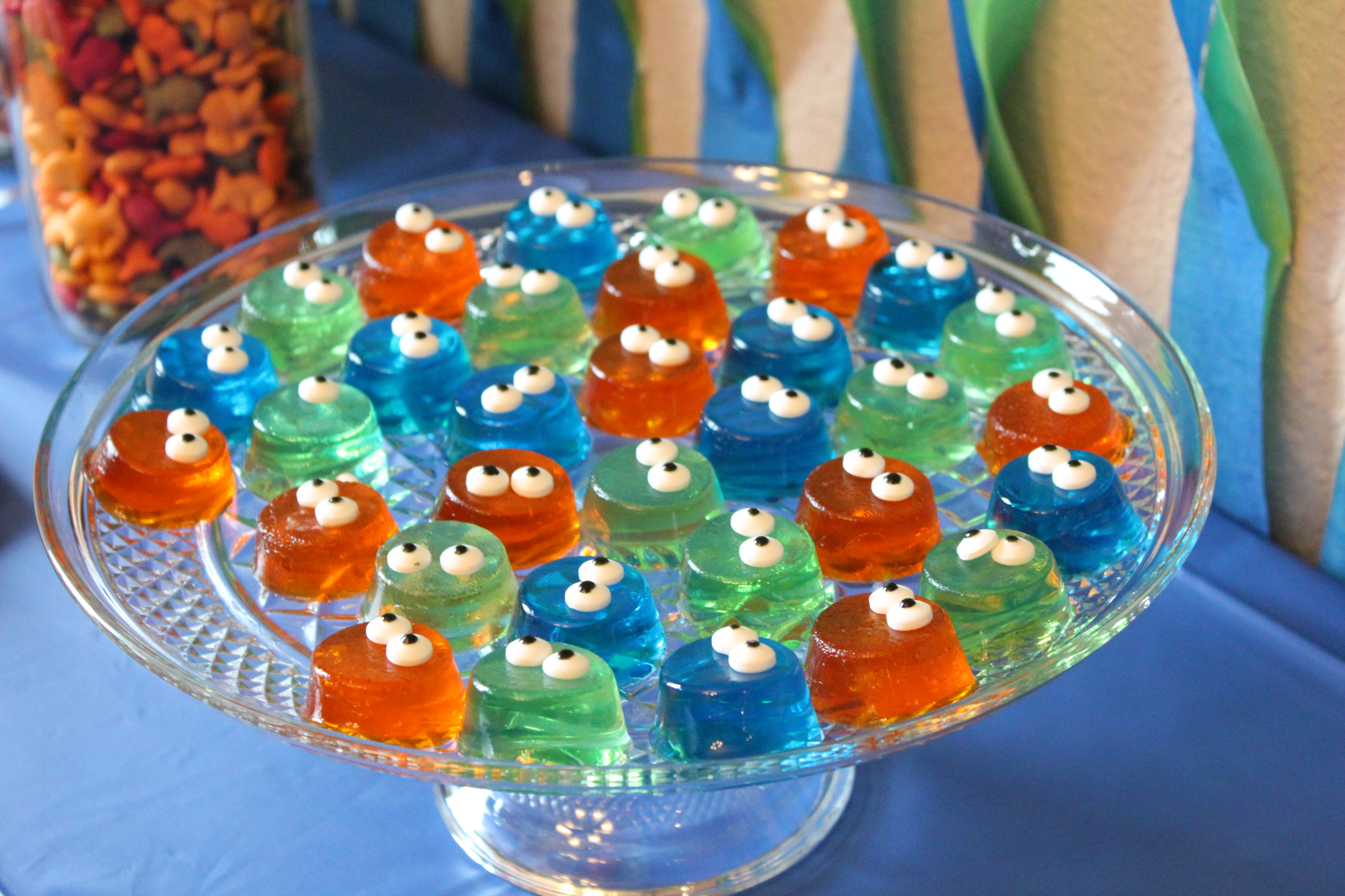 monster birthday party Monster First Birthday Party: Monster Jell os & Monster Cups  monster birthday party