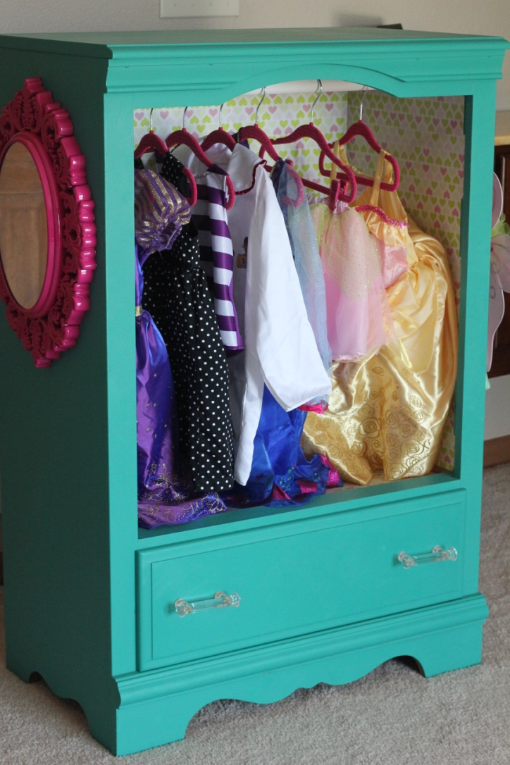 diy dress up wardrobe simply being abby. Black Bedroom Furniture Sets. Home Design Ideas